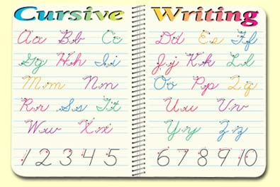 Printables Images Of All Alphabet Cursive Letter the alphabets in cursive scalien all scalien